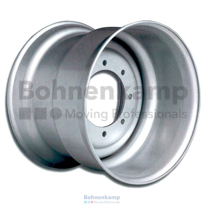 Диски для ИМПЛЕМЕНТА  14.00X22.5 10/281/335 ET0 SILVER with valve BW2247