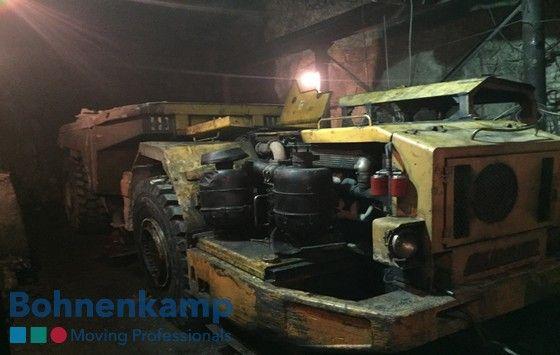На предприятии, которое занято подземной добычей драгоценных и цветных металлов, в Казахстане в конце марта 2017 г. началась тестовая эксплуатация шин 26.5R25 BKT EARTHMAX SR41 E-4.