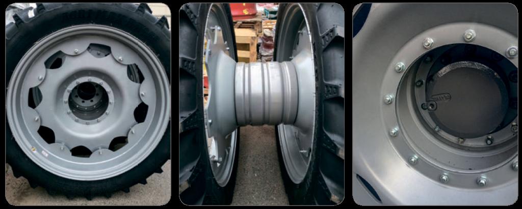 Комбинированные сборные колесные диски