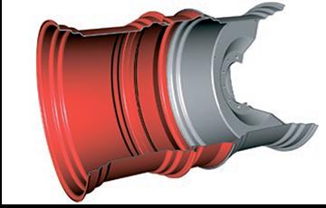 Среди множества систем представленных на рынке, система сдваивания базовых колес с применением дисков и стяжек швейцарской фирмы Schaad является одной из самых оптимальных.
